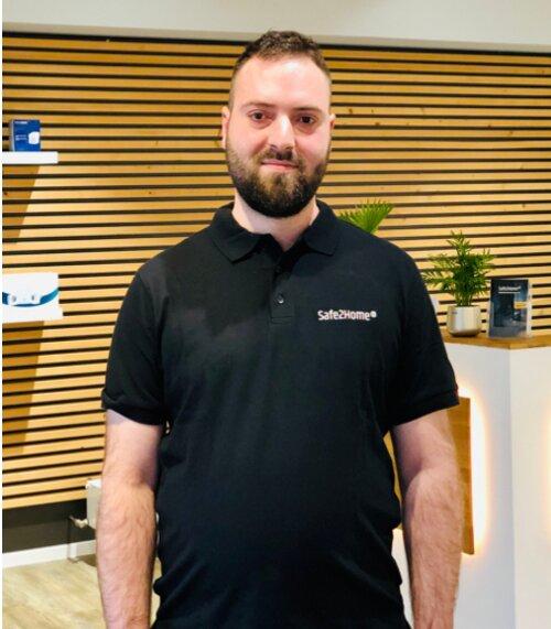 David Husar - Auszubildender im Bereich Fachkraft für Lagerlogistik