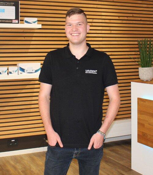 Jonas Nostadt - Auszubildender im Bereich Fachkraft für Lagerlogistik