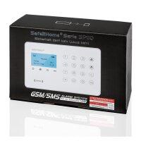 Funk Alarmanlagen Set SP110 Alarmsystem - Großes Set mit 230 / 12 Volt Sirene - Sabotageschutz - deutsch