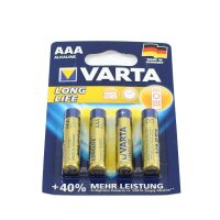 Var ta Long Life Batterien LR03 / AAA Alkali-Mangan Batterie Var ta ( Alkaline ) 1,5 V für Fernbedienung Digital Kamera usw.