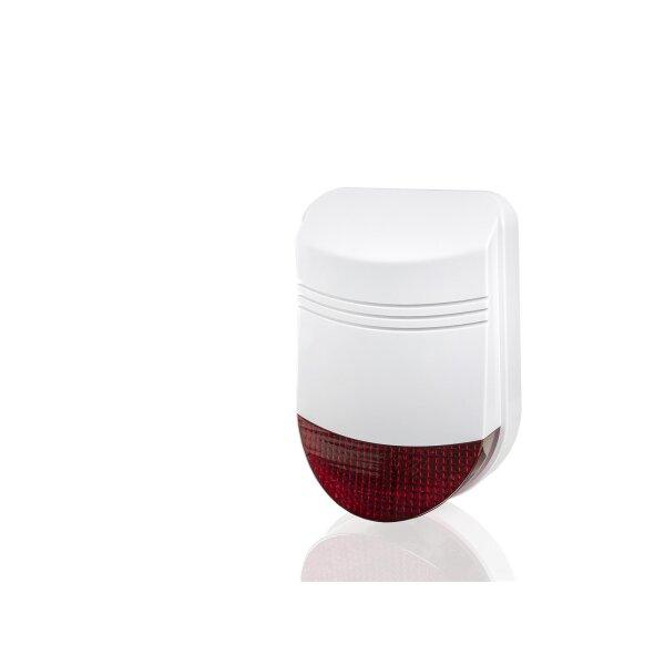 Funk Außensirene / Außenalarm 12 Volt für Funk Alarmanlage Serie SP110 /SP210 / SA100 / OTTO - GSM WIFI Alarmsystem