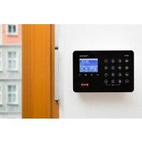 Basis Set SP310 Profi - Funk Alarmanlage mit Rolling Code - wechselnde Frequenz – WLAN GSM Alarmsystem