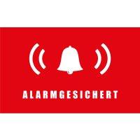 Safe2Home® 9er Set Aufkleber Alarmgesichert -...