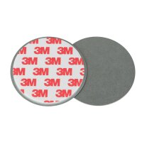 Rauchwarnmelder Schnellbefestigung 5er Set Magnet Halterung für glatte Flächen Ø 50mm