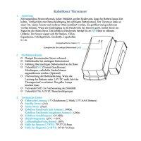 Fenstersensor – Türsensor mit Antenne für Funk Alarmanlage Serie SP110 /SP210 / SA100 / OTTO - GSM WIFI Alarmsystem