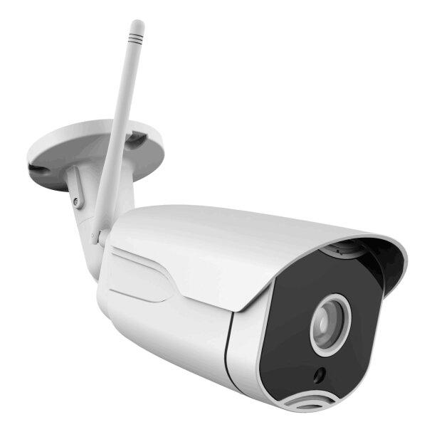 Safe2Home® 1x Funk Überwachungskamera Full HD Cam mit Nachtsicht für Safe2Home Kamera Set