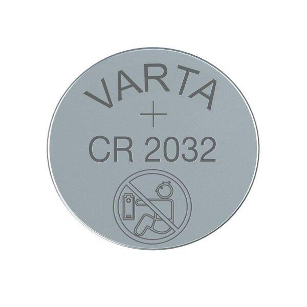 Varta Knopfzelle CR2032 (6032) Lithium-Knopfzelle für Türsensor Serie SP310 - 3 Volt - nicht wiederaufladbar
