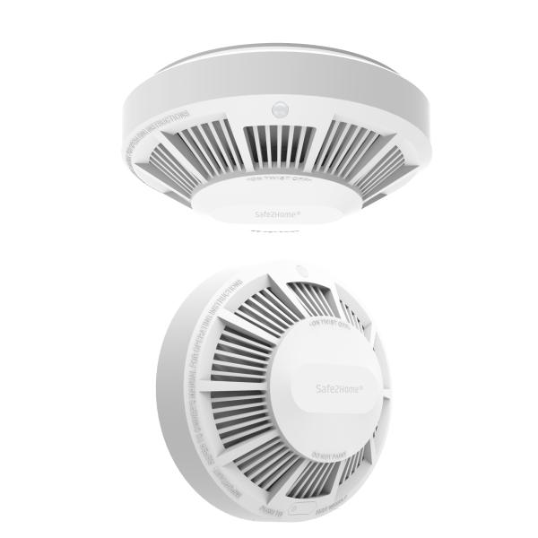10 Jahres Rauchmelder / Rauchwarnmelder für Funk Alarmanlage Serie SP110 /SP210 / SA100 / OTTO - GSM WIFI Alarmsystem
