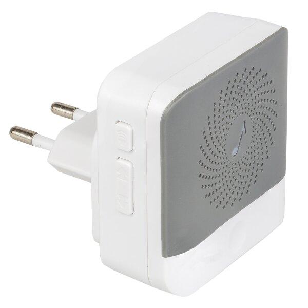 Safe2Home® 1x Innenklingel 230 V für Türklingel Kamera kabellos