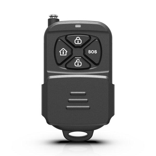 Fernbedienung für Funk Alarmanlage Serie SP110 / SP210 / SA100 / OTTO – GSM WIFI Alarmsystem