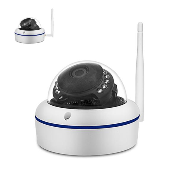 Safe2Home® 1x Funk Dome Überwachungskamera Full HD Cam für Safe2Home Kamera Set Secure S1.0 -- Single / Einzeln - Nachtsicht