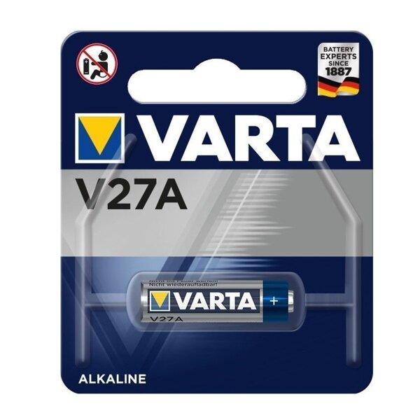 Safe2Home Varta V27A Batterie für die Fernbedienung mit Antenne - Serie SP110 / SP210 / SA100 VARTA LR27 / A27 (V27A) MN27