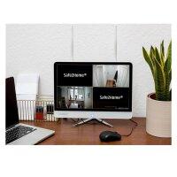 Safe2Home® POE / Funk Überwachungskamera 8 Kanal Set - 4x Full HD POE Cam Nachtsicht - Rekorder