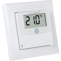 IP-Temperatur/FeuchtSensor mit Display innen